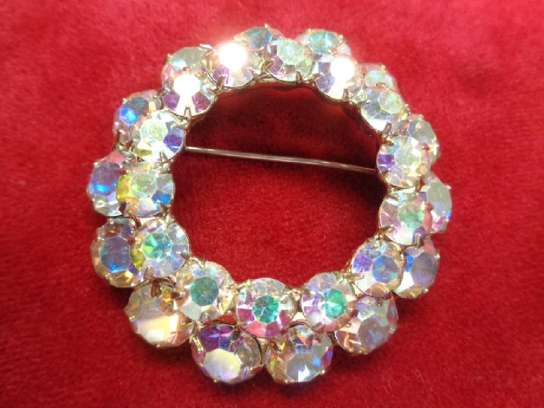 Original Vintage 1950' Custom Brooch Pin Jewelry