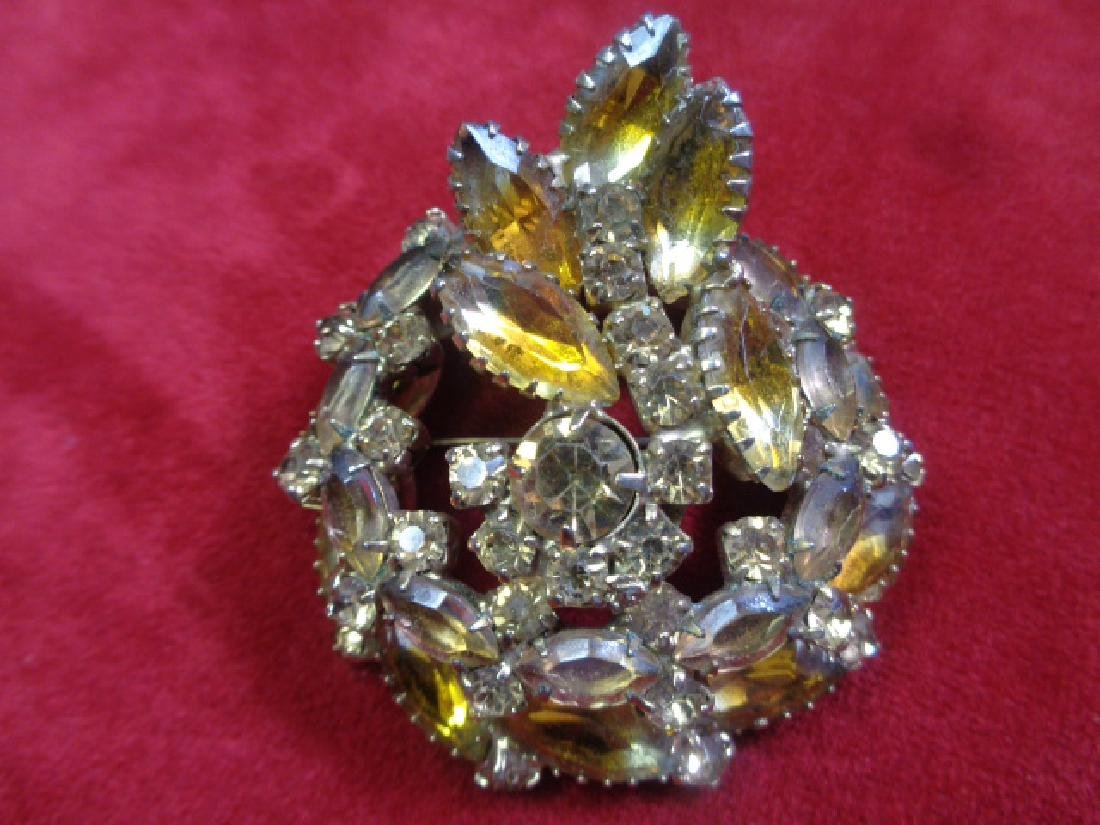 Vintage 1950' Custom Brooch Pin Jewelry