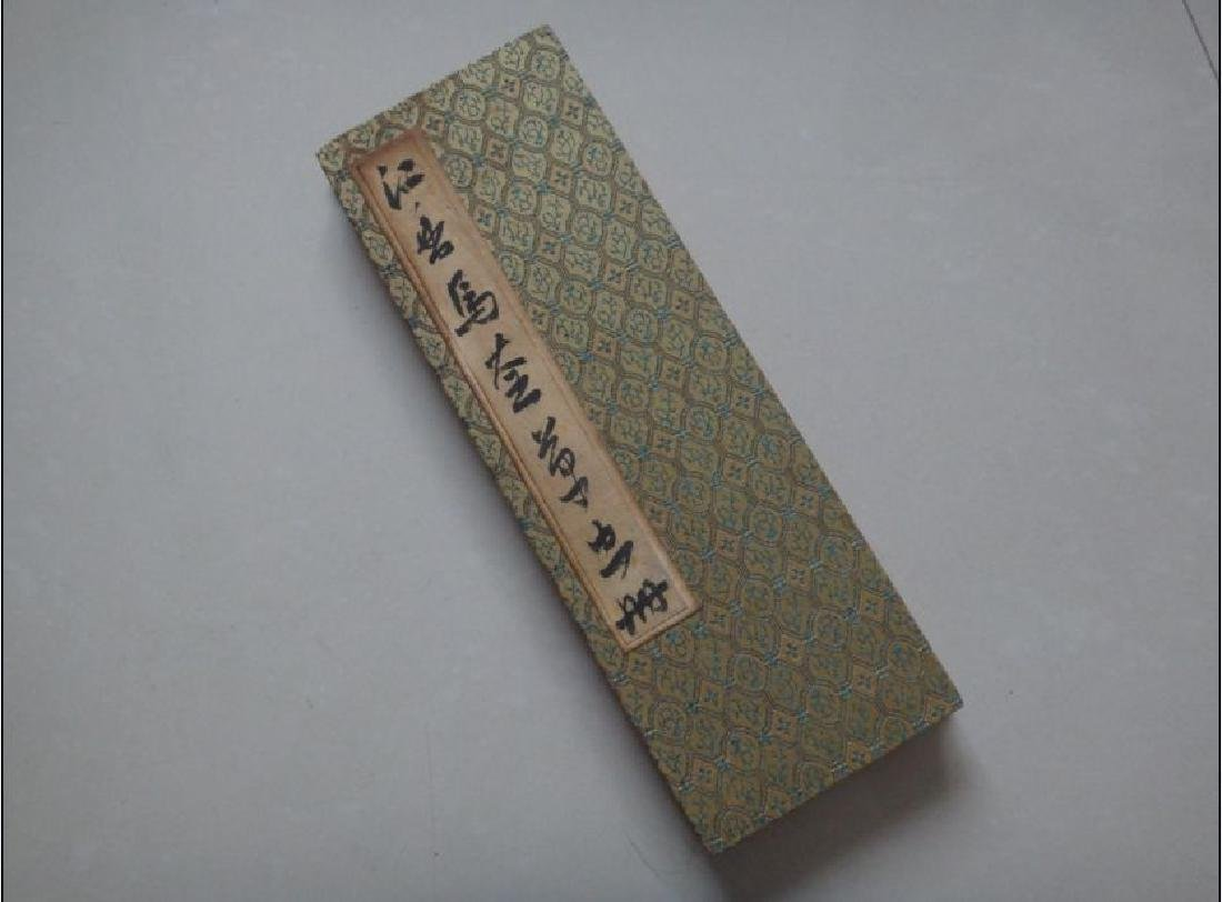 Antique Chinese Hand Painted Scroll Book