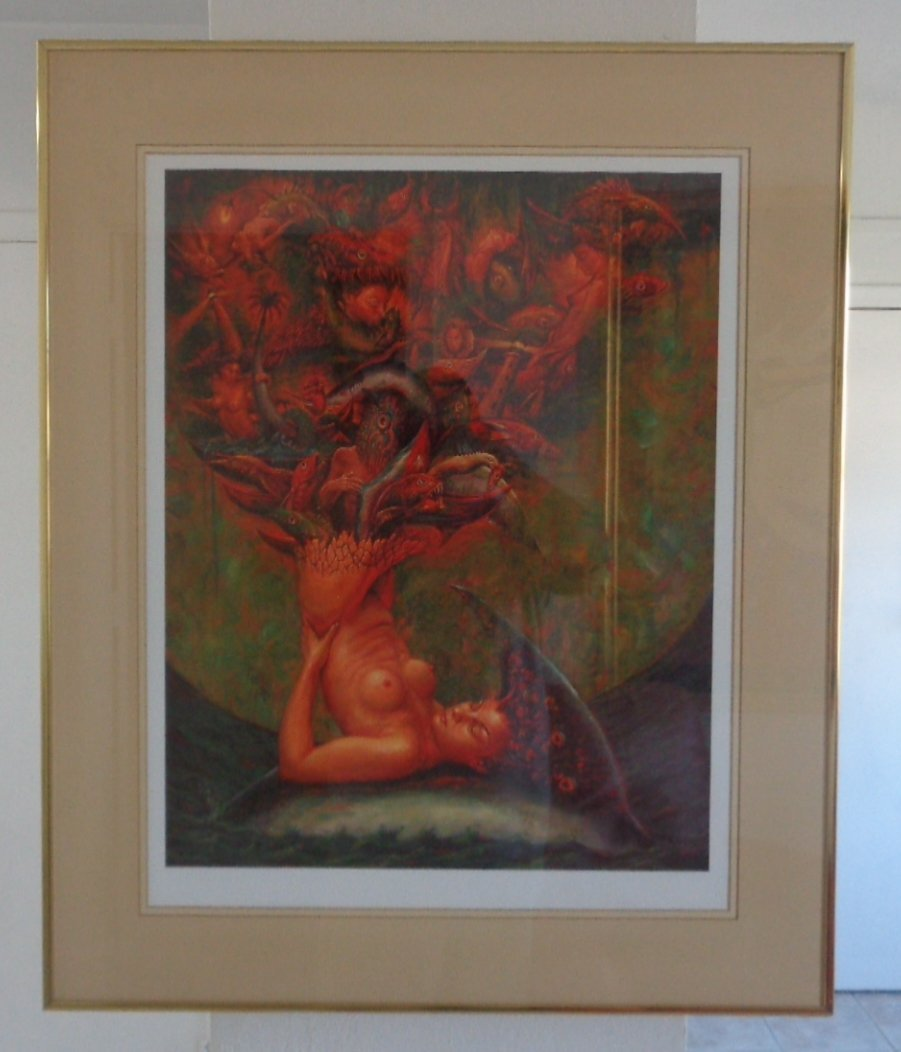 Original Cuban Lady Print