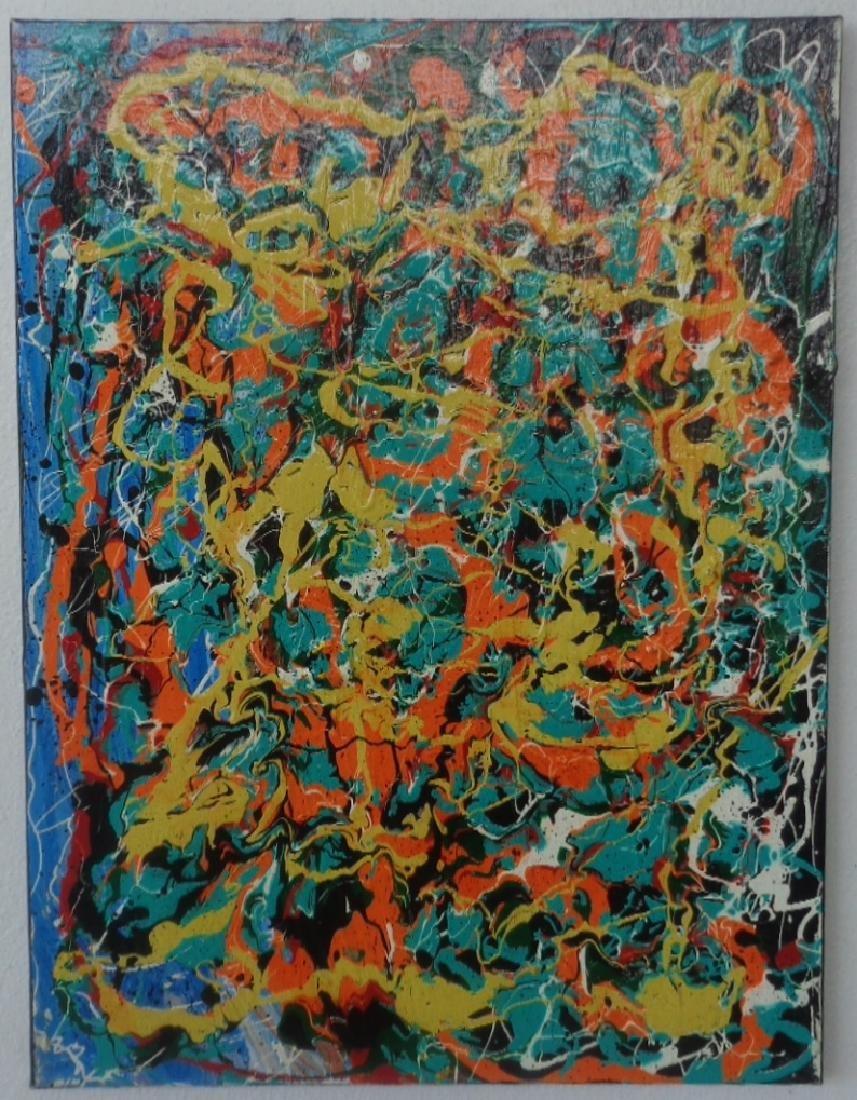 Original Painting on Canvas New York Painting.