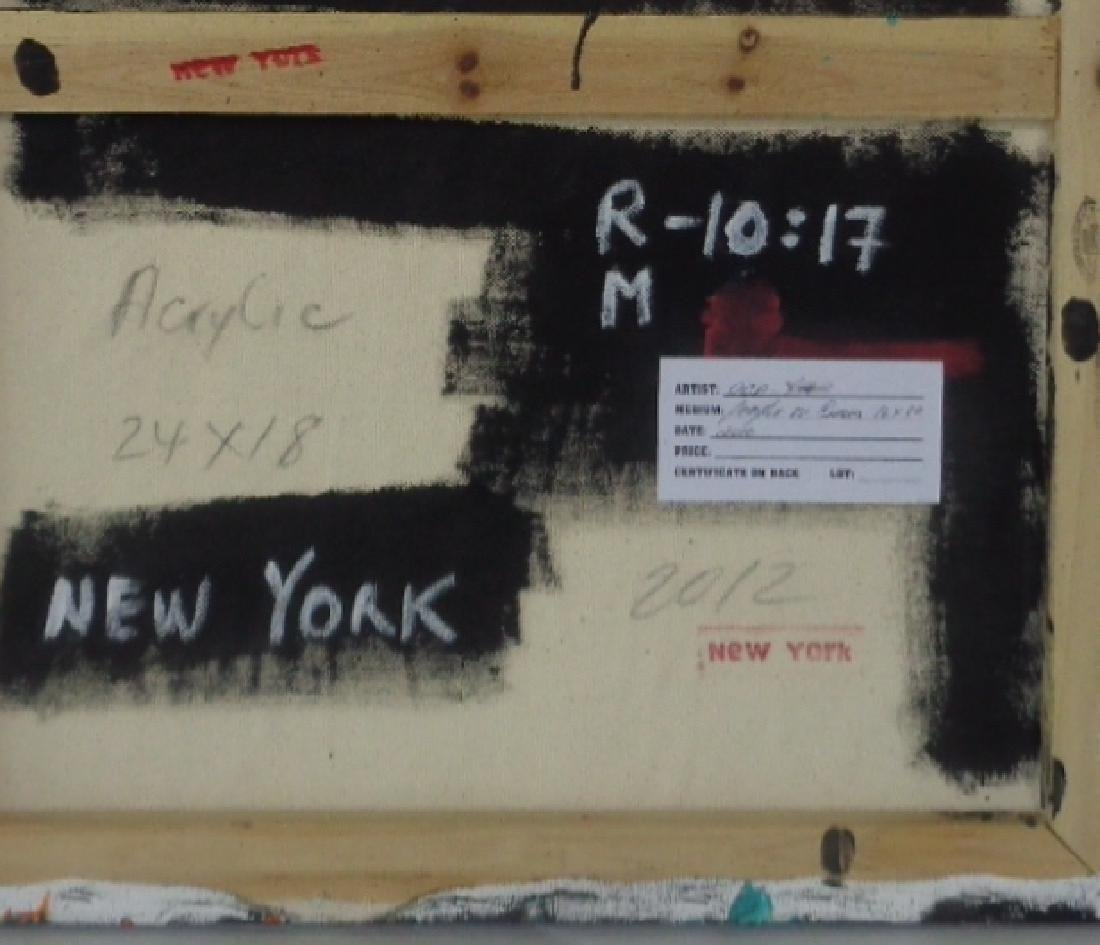 Original Painting on Canvas New York Painting. - 3