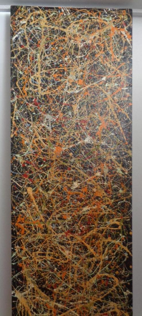Original R Medina(1958 Ame)Painting N York-Certificate - 4