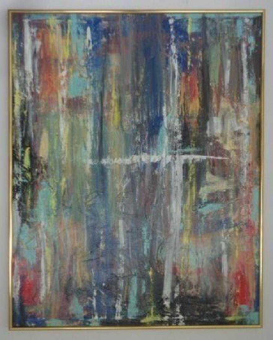Original Abstract Modern Painting W New York