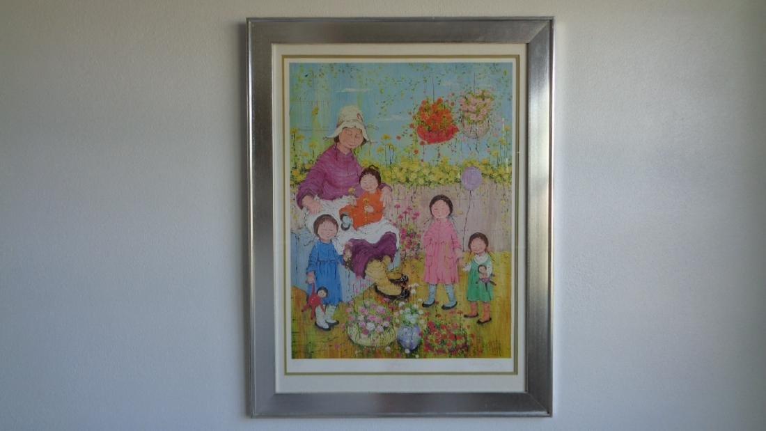 Barret Family Print. Measurements