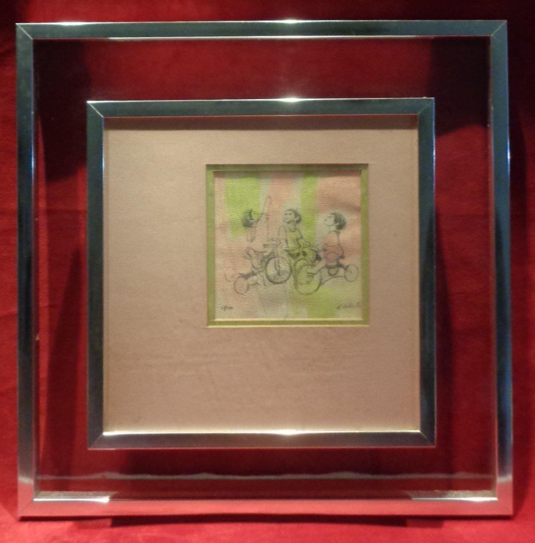 Original Hand Signed & Numbered Engraving 13/100 R Vale