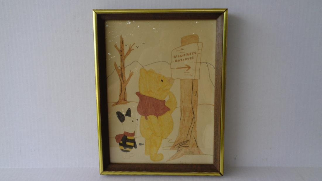 WineKel's Framed Original Painting Signed Ton Famton