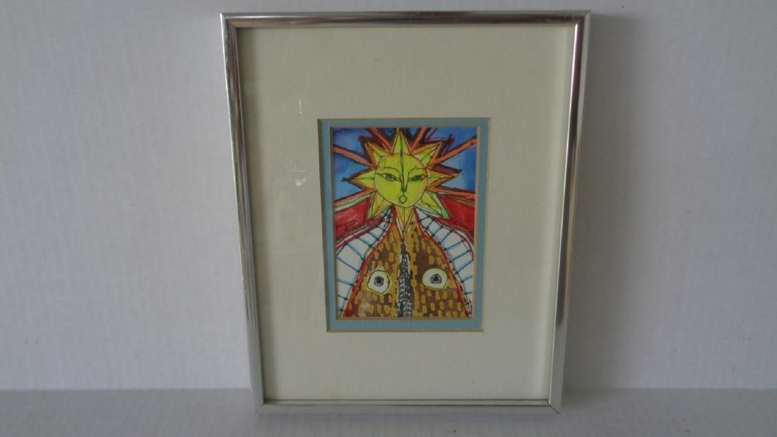 "J. Rivera 2011 "" El Sol - N.York "" Original Hand"
