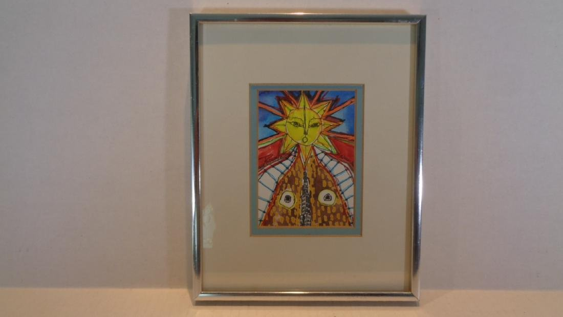 "J. Rivera 2011 "" El Sol - N.York "" Original Hand - 2"