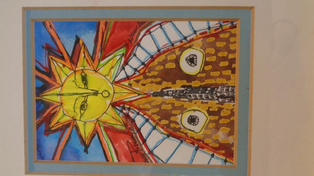 "J. Rivera 2011 "" El Sol - N.York "" Original Hand - 3"