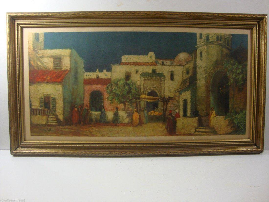 """In Old Argiers"" by Louis Seybold Print 1930's by Morri"