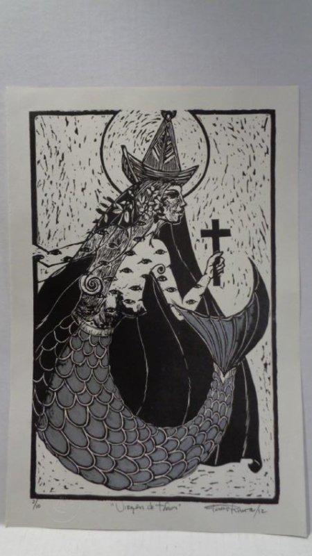 """J. Rivera.Original Title:""""Virgen de Todos""""-1 Edition"""