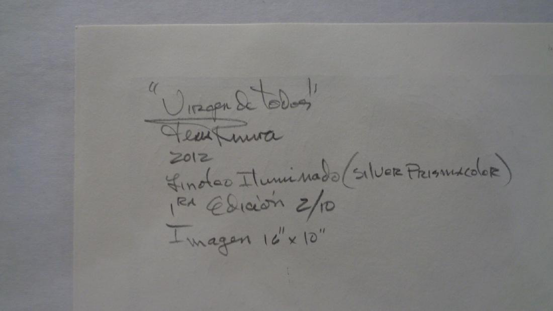 """J. Rivera.Original Title:""""Virgen de Todos""""-1 Edition - 5"""