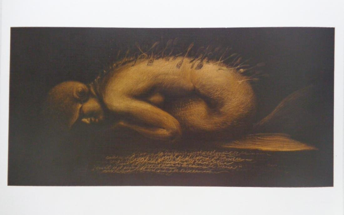 Roberto Fabelo (El Sueno de la Sirena) Lithograph