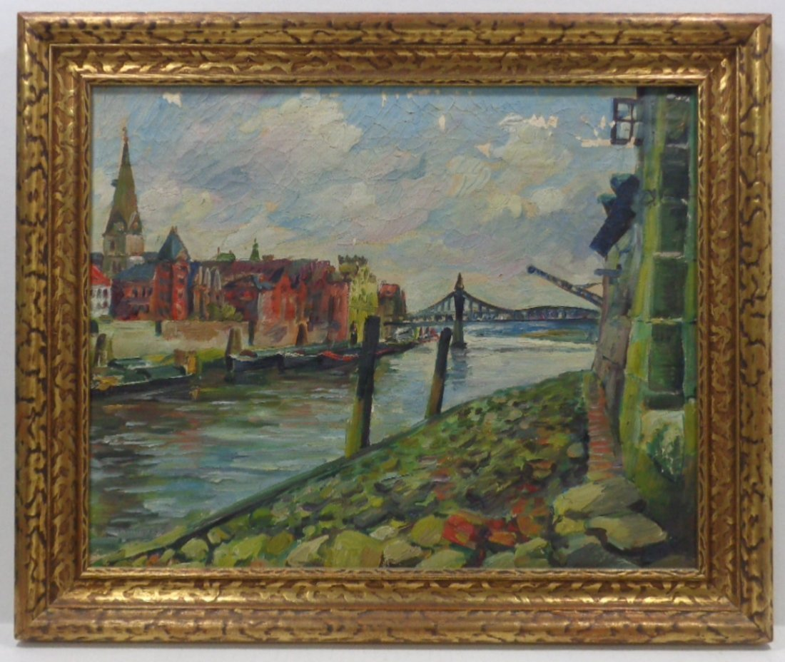 Antique Landscaping Painting Unsigned, Painting