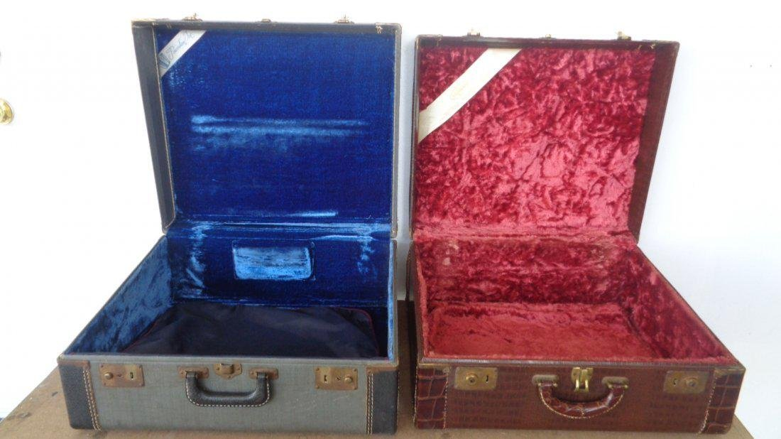 Lot of 2 Vintage Italian Pancordion and Stradavox Case - 4