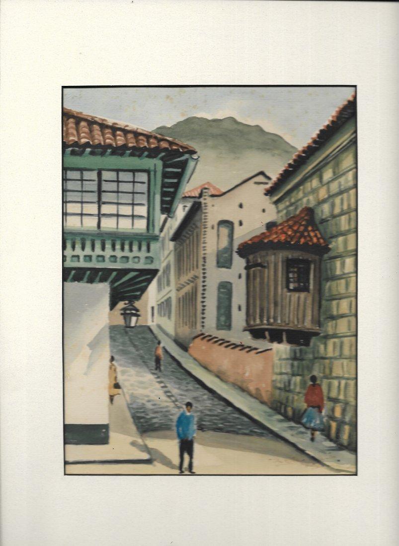 1961 Landscape- Water color