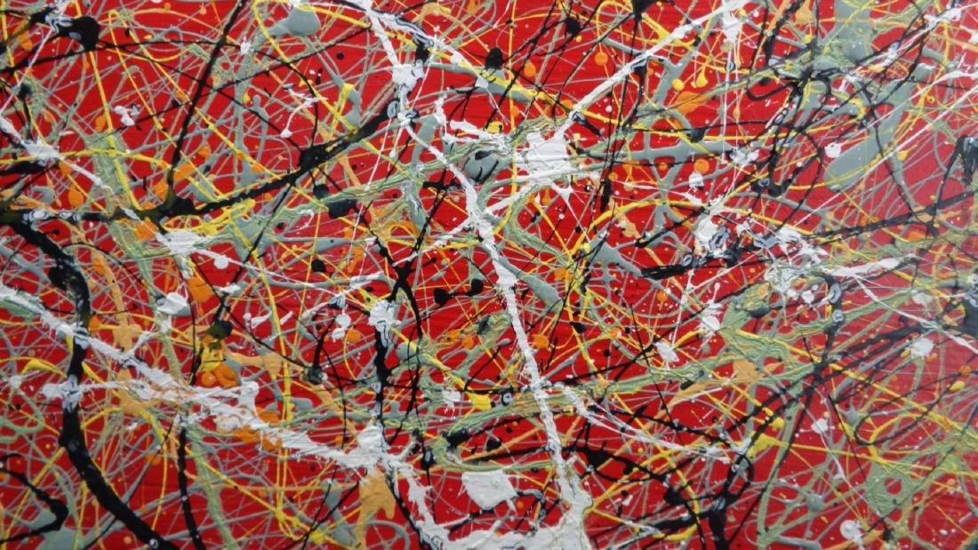 R Medina (Ame Born) N York - Original Signed Painting - 2