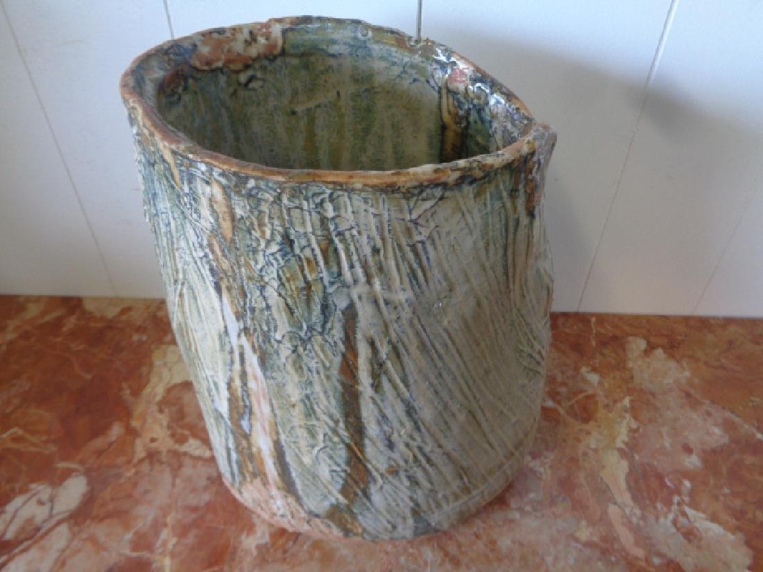 Original Lois B Herrick Abstract Ceramic Sculpture Vase