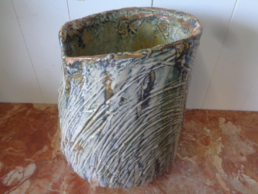 Original Lois B Herrick Abstract Ceramic Sculpture Vase - 2
