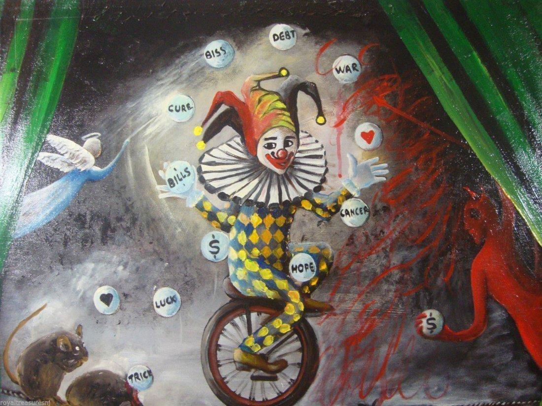 Rare Original Rita Sherifi Original Canvas