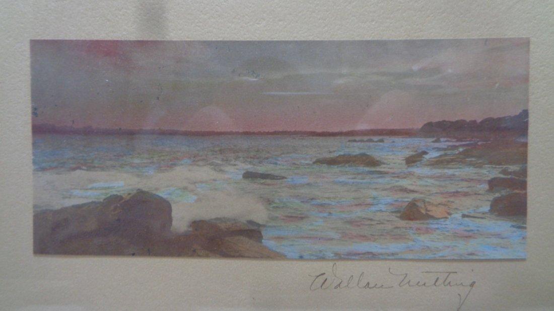 Original Wallace Nutting Hand Colored Beach Scene - 2