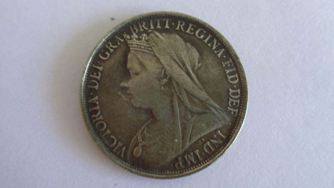 1966 Two Dollars Silver Crown Victoria Dei Gra Britt