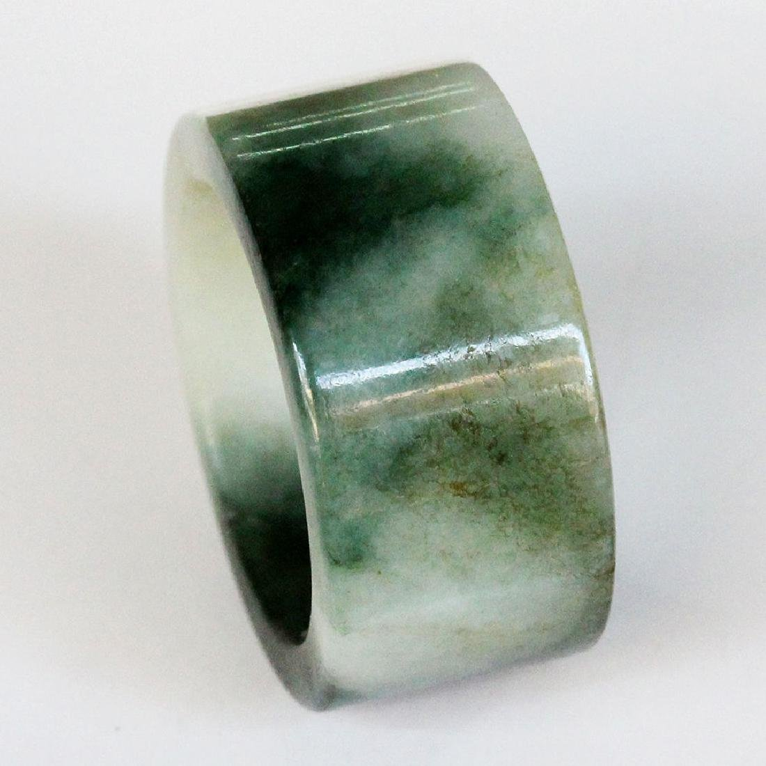 100% Natural Jadeite ( A Jade ) Ring Size - US 10