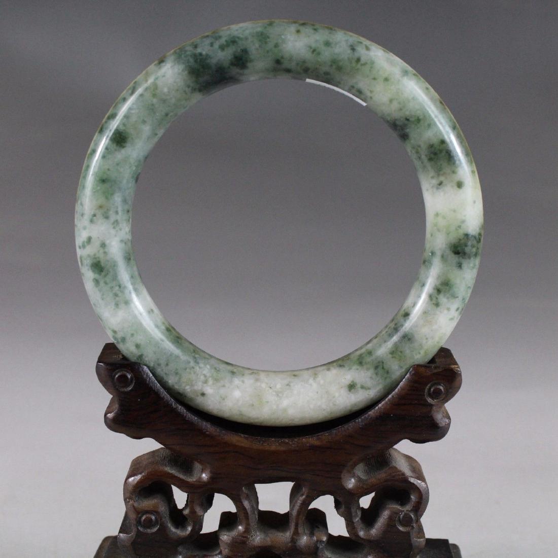 Natural Bangle Bracelet. inner: 59mm -outer: 81mm -Widt