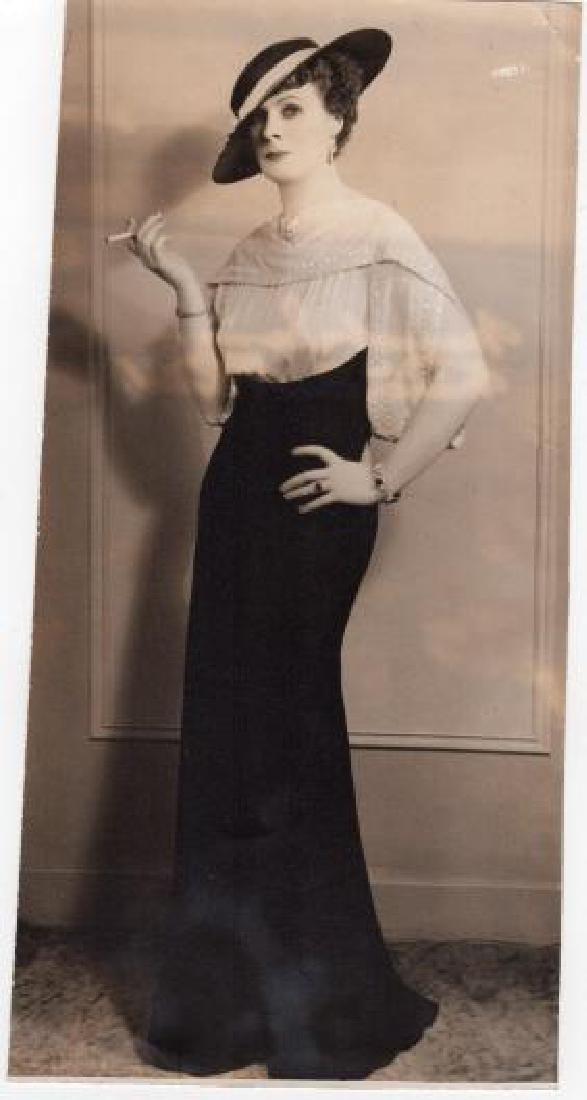 1936 Original photo showing actress Margaret Irving