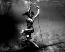 Rare B&W Avant Garde Experimental - Under Water -Photo