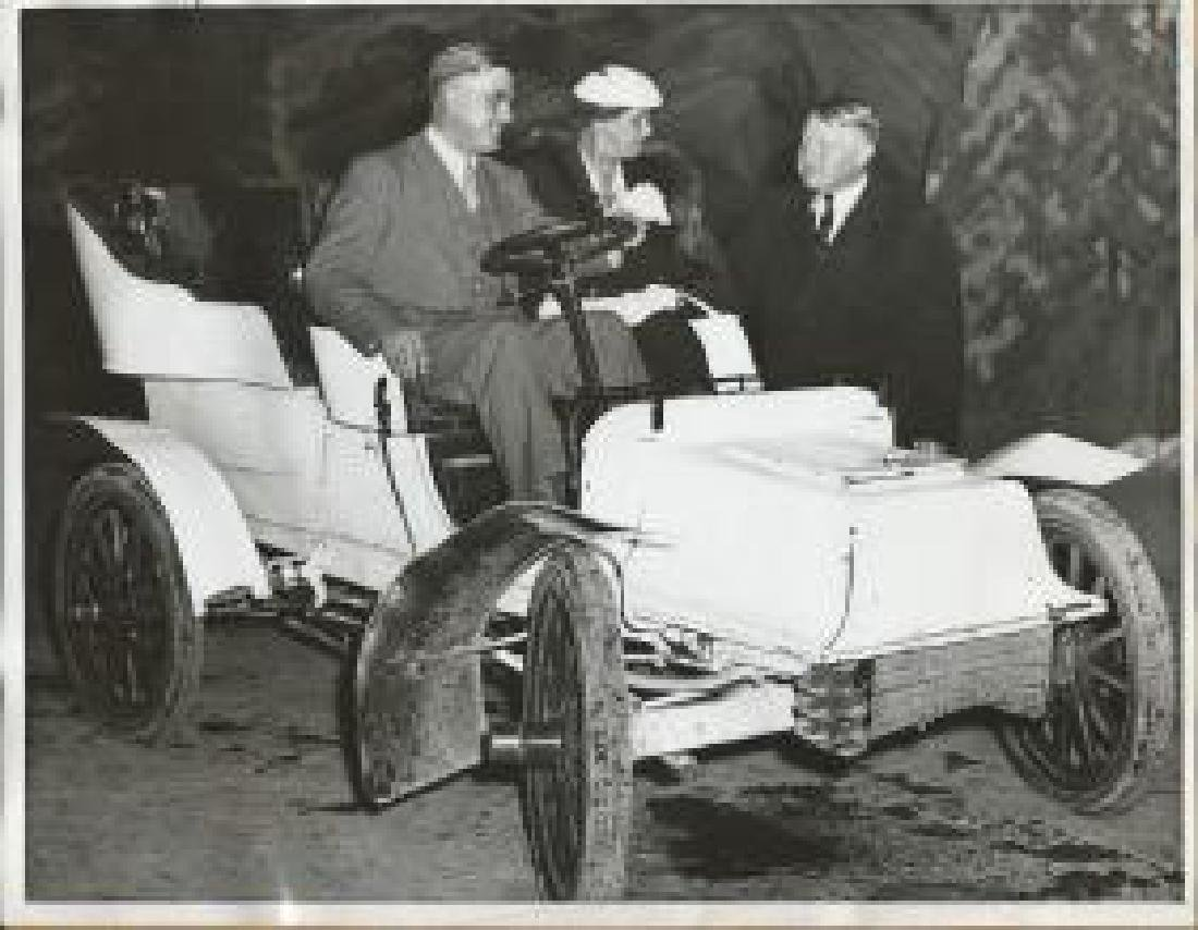 Maine Gov.Lewis Barrows & Wife at Golden Gate Fair 1939