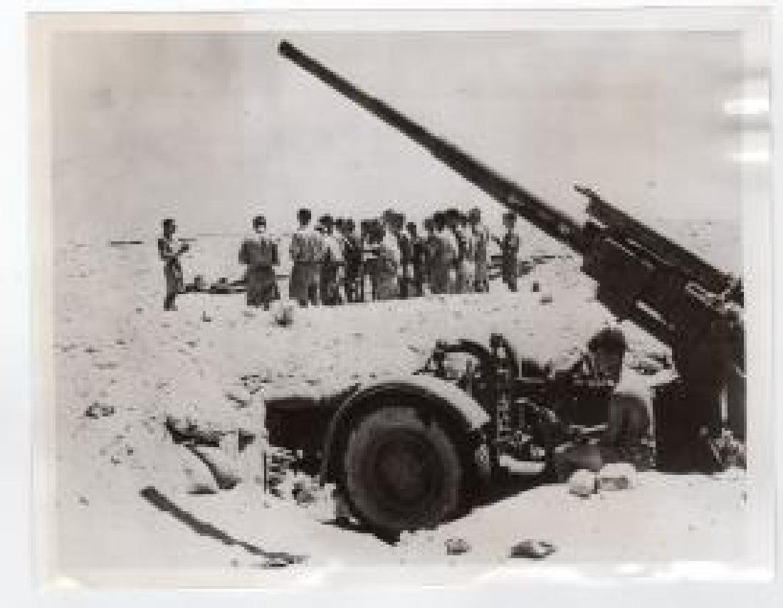 Services for British Forces in Desert in Libya 1941 Ori