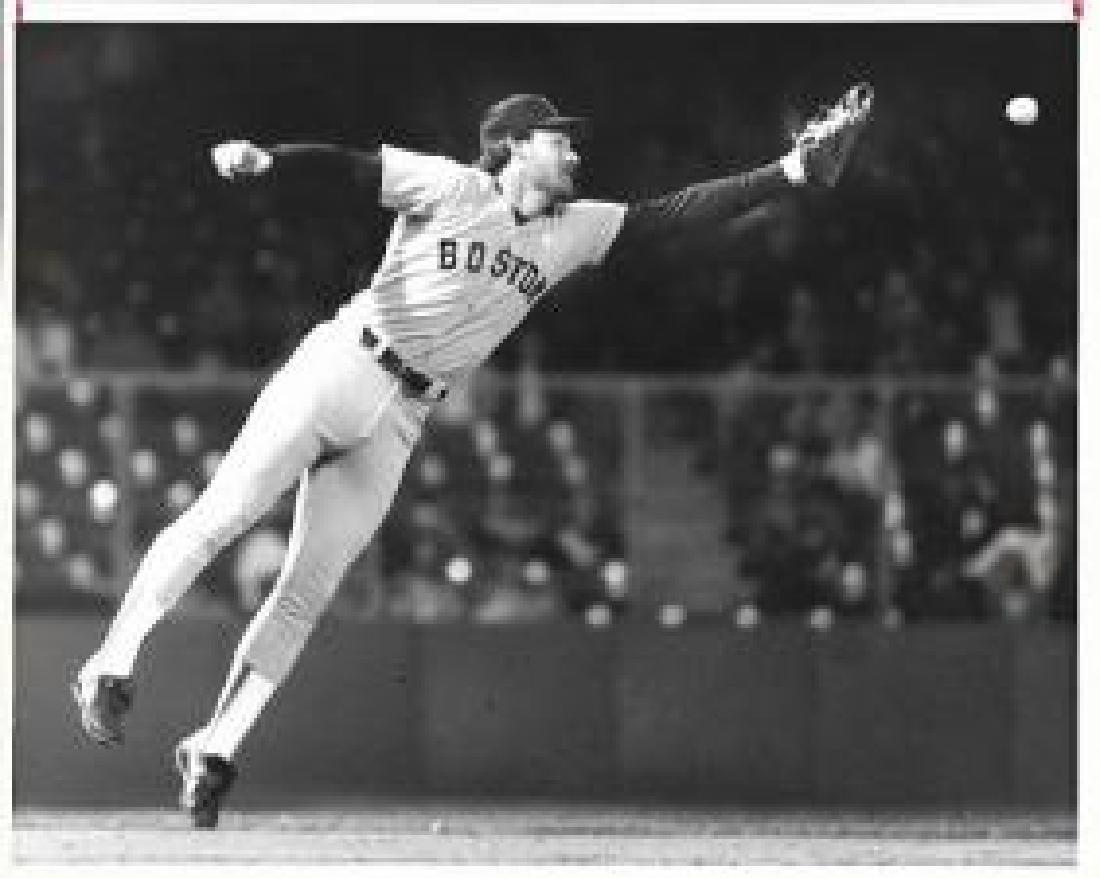 Photo Wade Boggs baseball Red Sox Boston. Appx Photo Si