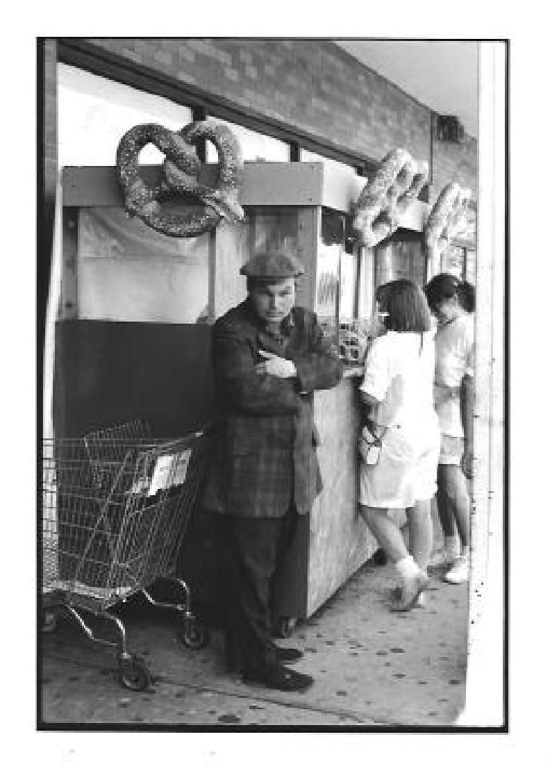 Rare Black & White NY-NY Photo