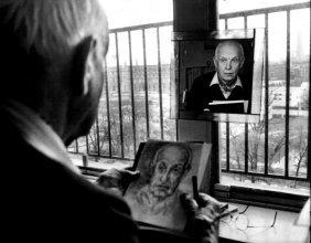 Black and White Picasso Photo
