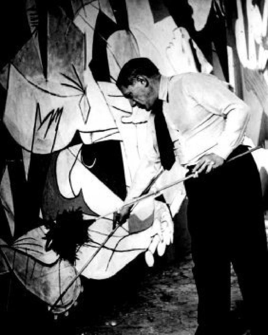Black and White Pablo Picasso Photo