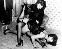 B & W Betty Page - Photo