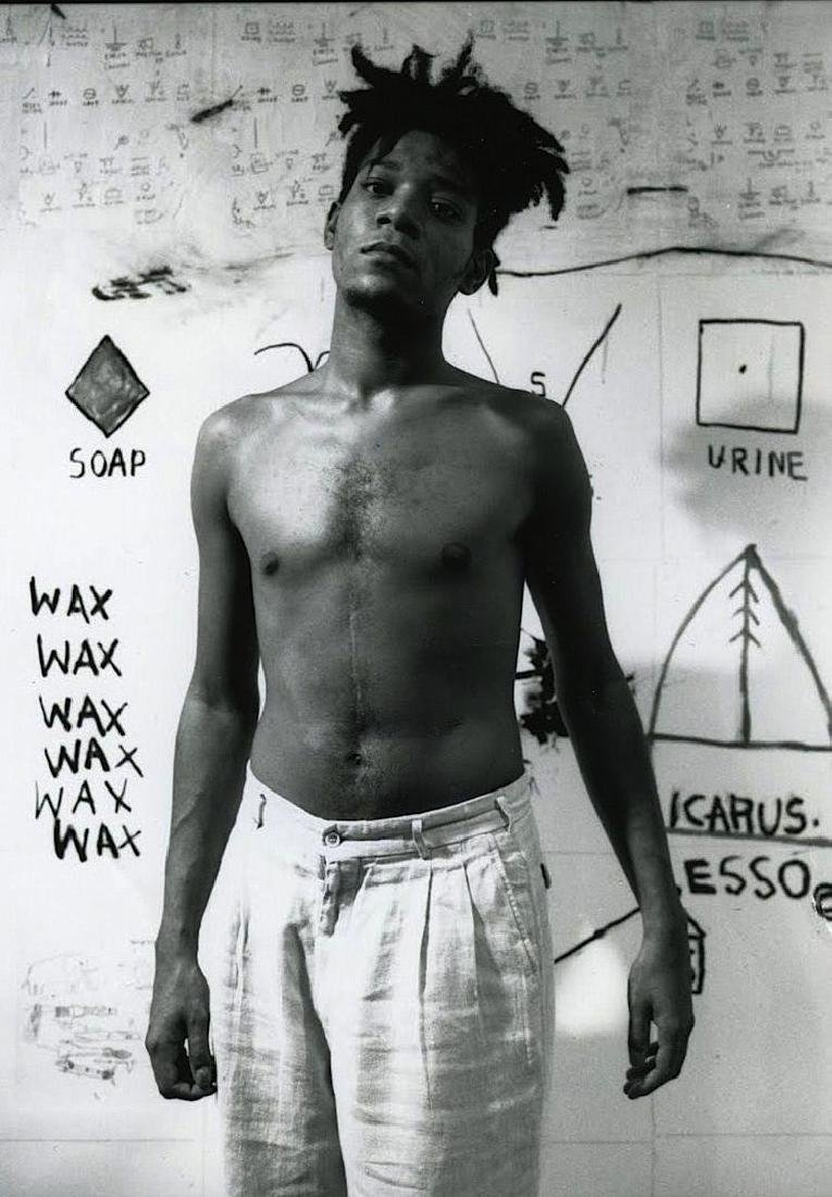 B & W Basquiat -Photo