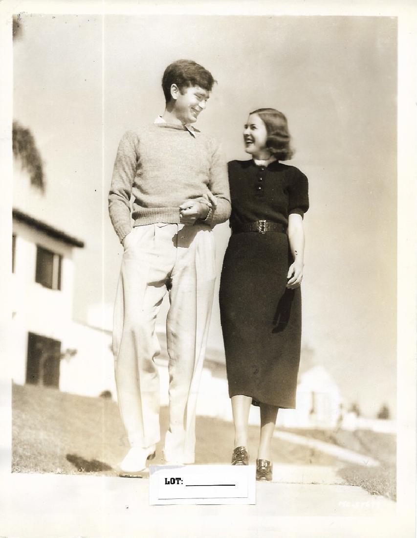 Vintage B&W 1937 Bubby Ebsen Photo