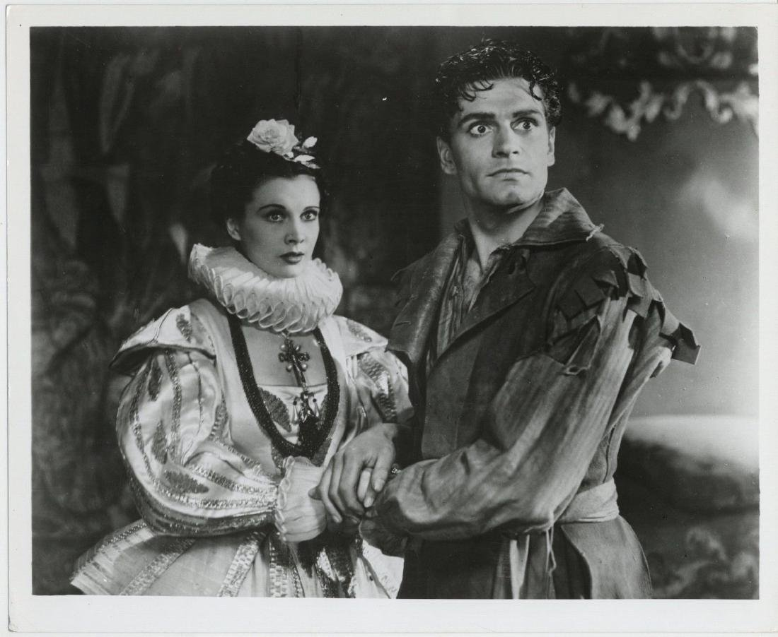 B&W Vtg -1937  Vivien Leigh, Laurence Olivier Photo