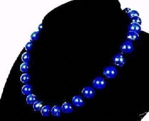 10mm Lapis Lazuli Necklace