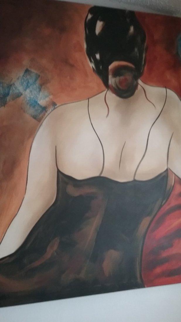 Giglee Painting by Bella Karawaewa Prado, Brazilian - 2