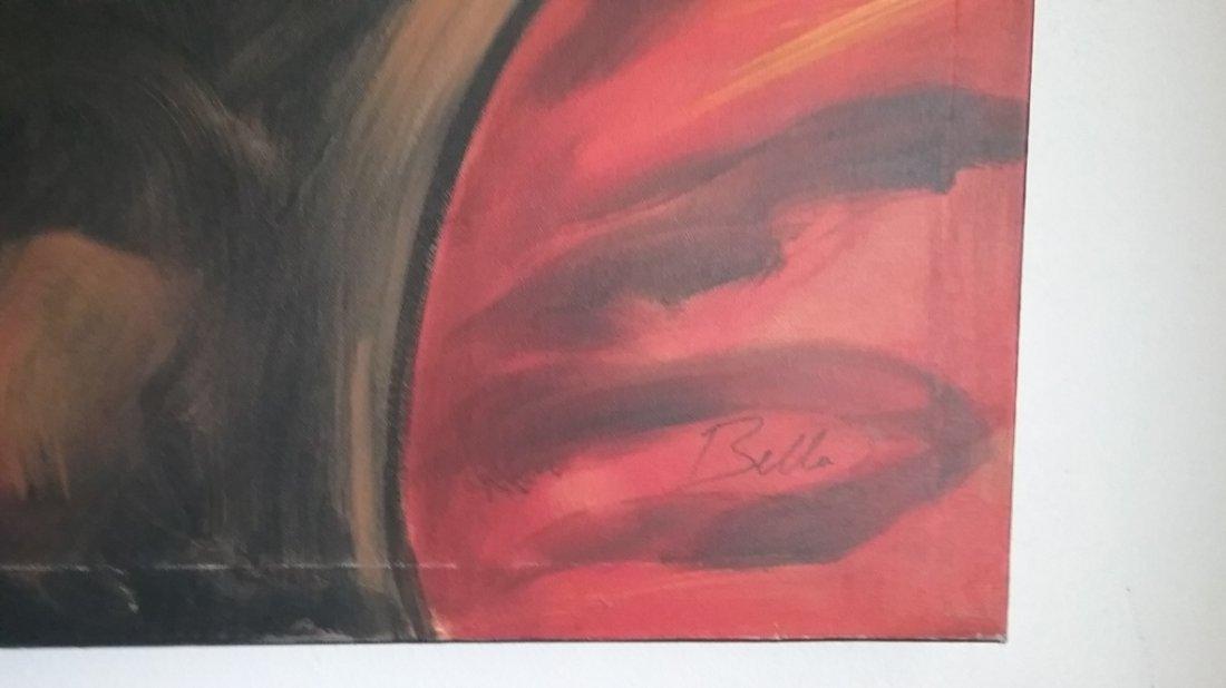 Giglee Painting by Bella Karawaewa Prado, Brazilian - 3