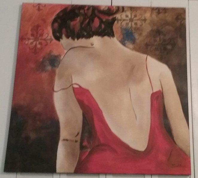 Giglee Painting by Bella Karawaewa Prado Brazilian sign