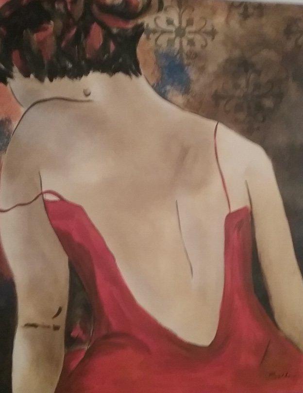 Giglee Painting by Bella Karawaewa Prado Brazilian sign - 2