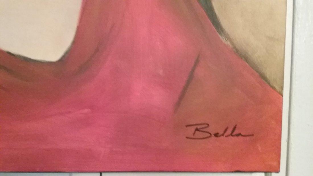 Giglee Painting by Bella Karawaewa Prado Brazilian sign - 3
