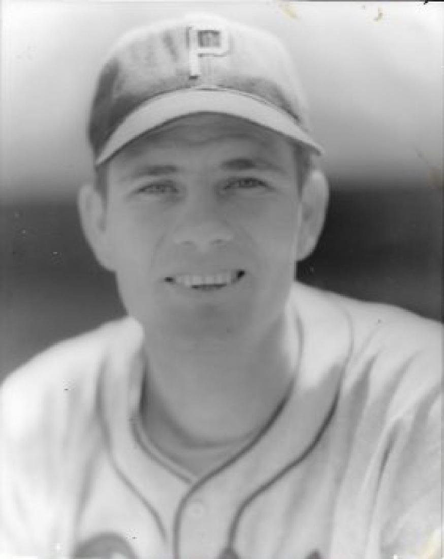 1943' Mickey-Thompson Orville Livingston Baseball Photo