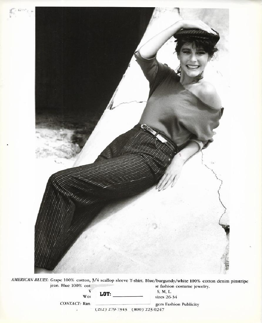 Vintage B&W N York Fashion Model Gelatin Silver - Photo