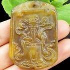 Jade Hand-made Mammon Pendant